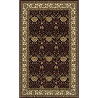 "Momeni Persian Garden Burgundy NZ Wool Rug (9'6 X 13') - 9'6"" x 13'"