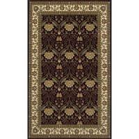 "Momeni Persian Garden Burgundy NZ Wool Rug (9'6 X 13') - 9'6"" x 13'"