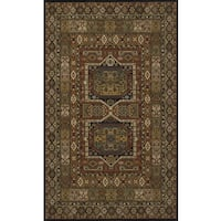 Momeni Persian Garden Black NZ Wool Rug (9'6 X 13')