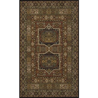 Momeni Persian Garden Black NZ Wool Rug - 9'6 x 13'