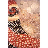 Momeni New Wave Multicolor Hand-Tufted and Hand-Carved Wool Rug (8' X 11')