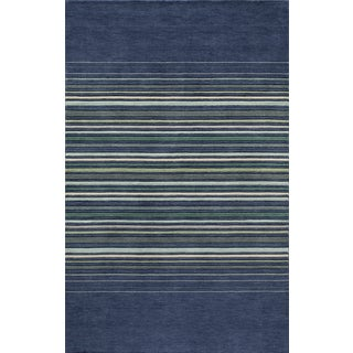 Loft Stripes Hand-loomed Wool Area Rug (8' x 11')