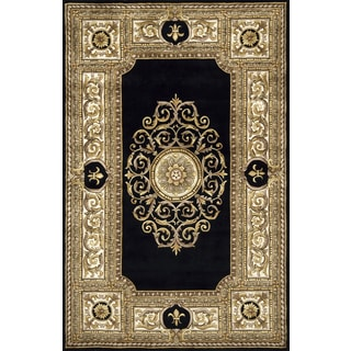 Paris Villette Hand-tufted Wool Area Rug (8' x 11')