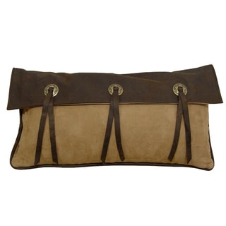 Long 3 Star Concho Pillow