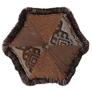 Rio Grande 18-inch Hexagon Pillow