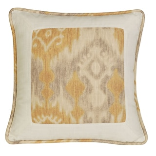 Casablanca 18-inch Ikat and Ogee Pillow