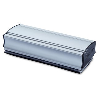 Lorell Silvertone Magnetic Eraser