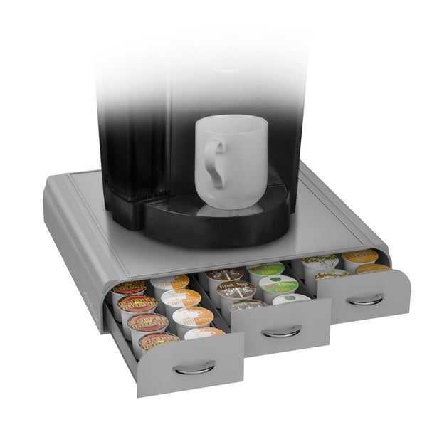 Anchor silvertone k cup drawer free shipping on orders - Tiroir range capsule dolce gusto ...