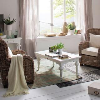 NovaSolo Mahogany Rectangular Coffee Table