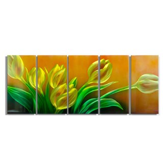 The Bouquet' Metal Wall Art