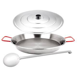 Magefesa Carbon on Steel 3-piece Paella Pan Set