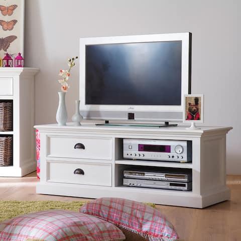 The Gray Barn Ora Mahogany Medium TV Table - 47,24 x 17,72 x 17,72