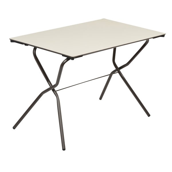 Lafuma Anytime Rectangular Folding Table   Free Shipping Today    Overstock.com   17109900