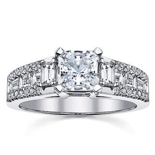 18k White Gold 1 1/6ct TDW Radiant-cut Diamond Engagement Ring (I-J, SI3)