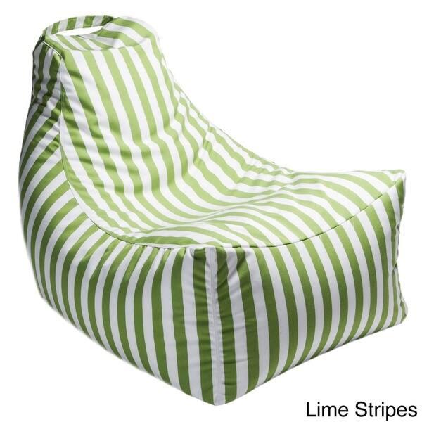 Stupendous Shop Jaxx Juniper Indoor Outdoor Patio Bean Bag Chair On Ibusinesslaw Wood Chair Design Ideas Ibusinesslaworg