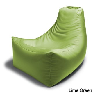 Jaxx Juniper Indoor/ Outdoor Patio Bean Bag Chair (Option: Lime - Solid - Modern & Contemporary)