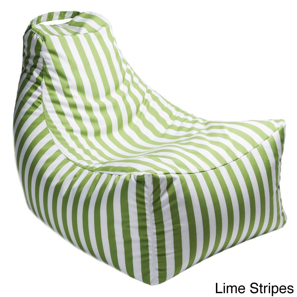 Jaxx Juniper Indoor/ Outdoor Patio Bean Bag Chair (Lime -...