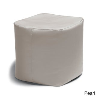 Jaxx Bean Bags Luckie Indoor/Outdoor Patio Ottoman (More options available)
