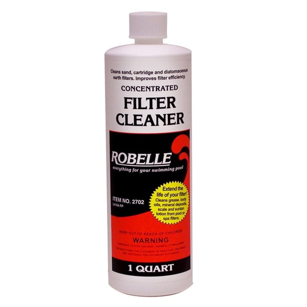 Robelle Concentrated Filter Cleaner