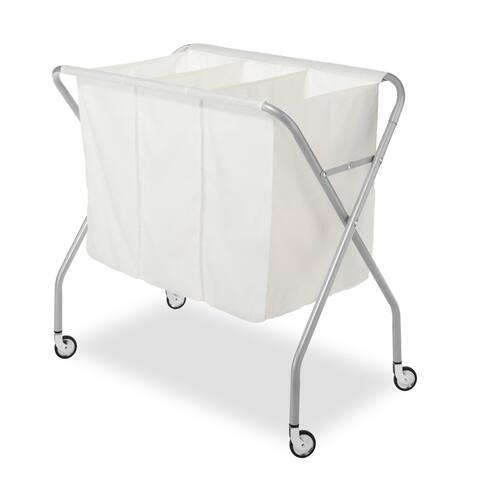 Whitmor 6705-569 Deluxe 3 Section Laundry Sorter