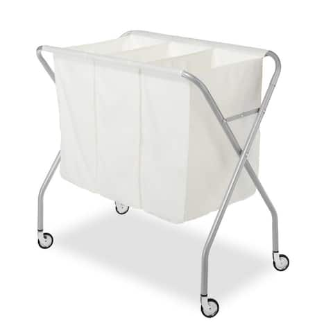 Whitmor 6705-569 Deluxe 3 Section Laundry Sorter