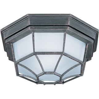 Maxim Die Cast Aluminum Frosted Shade EE 1-light Outdoor Ceiling Mount