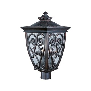 Maxim Aluminium Shade Newbury 3-light Outdoor Pole/Post Mount