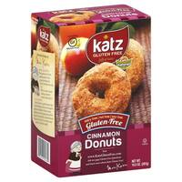 Katz Gluten-free Cinnamon Donuts (2 Pack) - brown