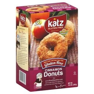 Katz Gluten-free Cinnamon Donuts (2 Pack) - brown