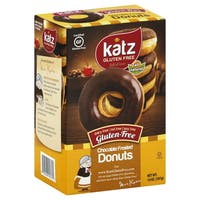 Katz Gluten-free Chocolate Frosted Donuts (2 Pack)