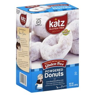 Katz Gluten-free Powdered Donuts (2 Pack)