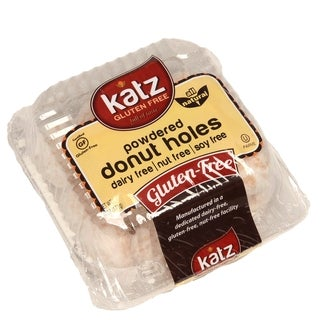 Katz Gluten-free Powdered Donut Holes (2 Pack)