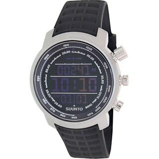 Suunto Men's Elementum SS014522000 Black Rubber Quartz Watch