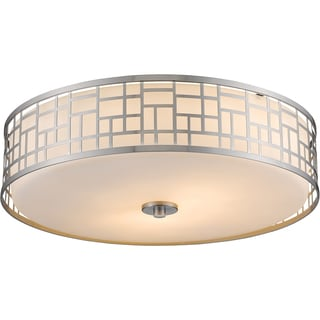 Z-Lite Elea 3-light Matte Opal Glass Flush Mount