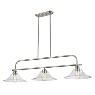 Z-Lite Annora 3-light Brushed Nickel Specialty Light