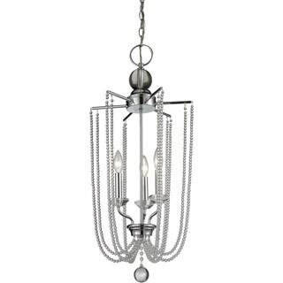 Avery Home Lighting Serenade 3-light Clear Pendant