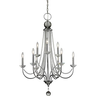 Z-Lite Serenade 9-light Chrome Chandelier