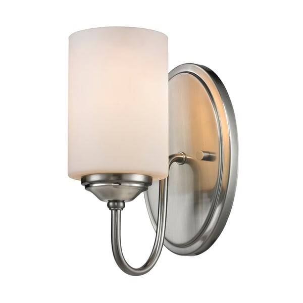 Avery Home Lighting Cardinal 1-light Matte Opal Shade Wall Sconce