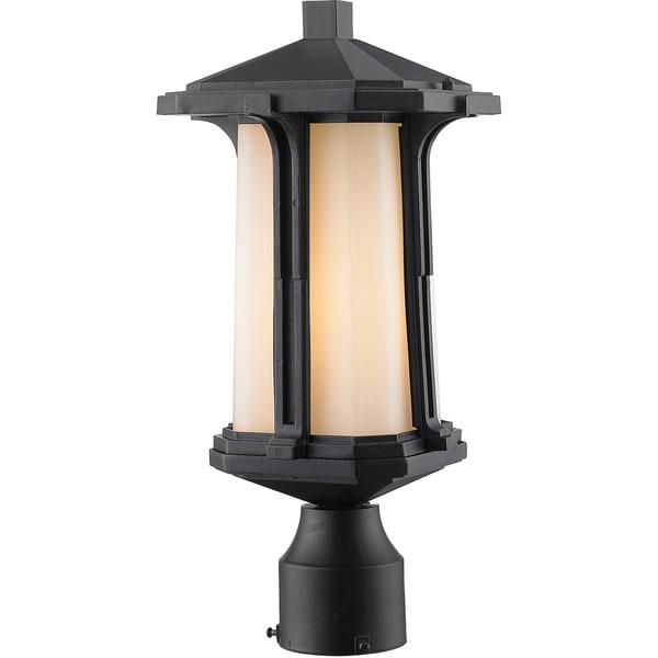 Shop avery home lighting harbor lane 1 light black outdoor post avery home lighting harbor lane 1 light black outdoor post mount light aloadofball Choice Image
