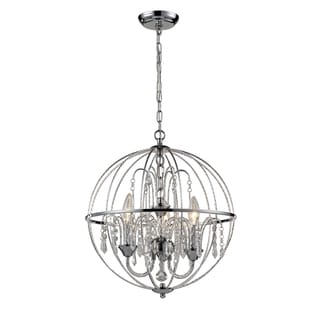 Z-Lite Laia 3-Light Chrome Orb Pendant