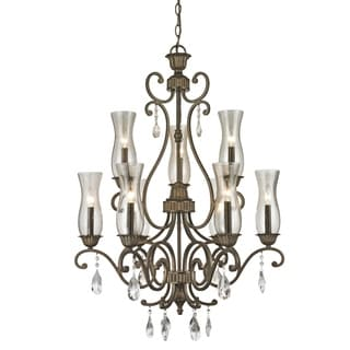 Z-Lite Melina 9-Light Bronze Chandelier
