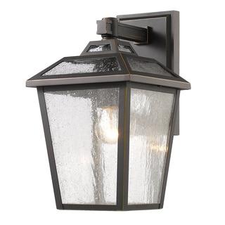 Z-Lite Bayland 1-Light Outdoor Bronze Wall Light