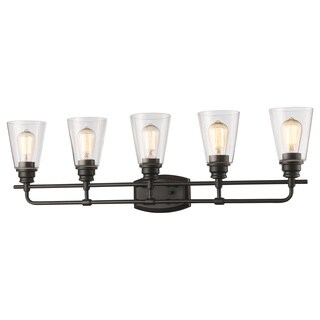 Avery Home Lighting Annora 5-light Olde Bronze Vanity