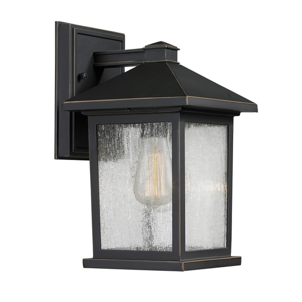 Avery Home Lighting Portland 1 Light Outdoor Wall