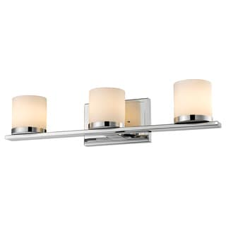 Z-Lite Nori 3-light Chrome Matte Opal Vanity