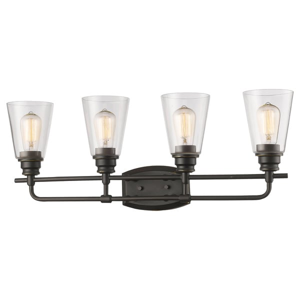 Z-Lite Annora 4-light Olde Bronze Vanity