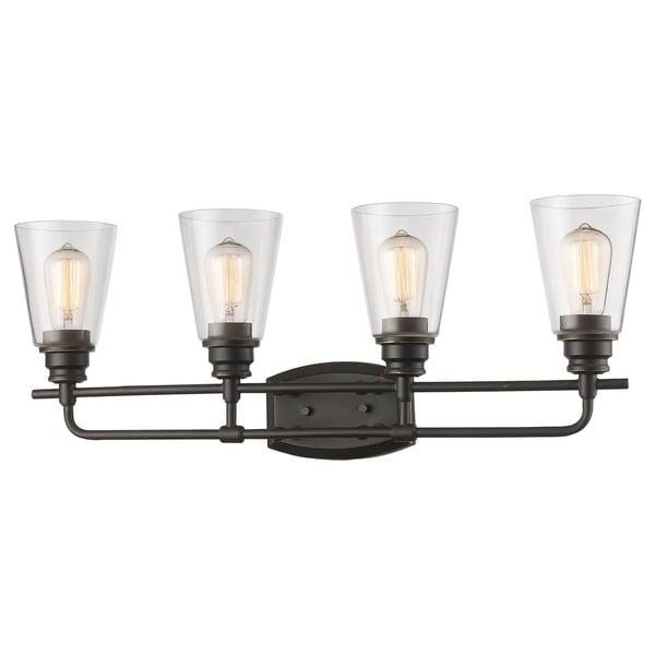 Avery Home Lighting Annora 4-light Olde Bronze Vanity