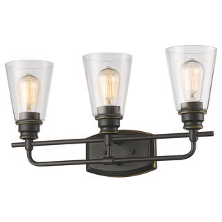 Z-Lite Annora 3-light Olde Bronze Vanity