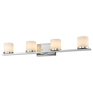 Z-Lite Nori 4-light Chrome Matte Opal Vanity