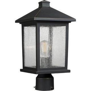 Z-Lite Portland 1-Light Post Mount